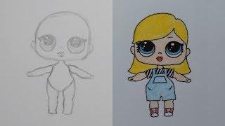 Download Je eigen LOL Surprise Doll leren tekenen! (IN STAPPEN) Video