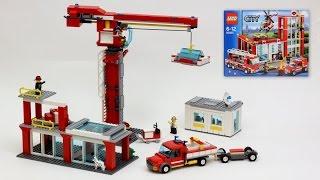 Download Construction Site - 60004 Fire Station Alternate Model Video
