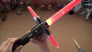 Download エレクトロニックライトセーバー   Star Wars Japanese Toys Video