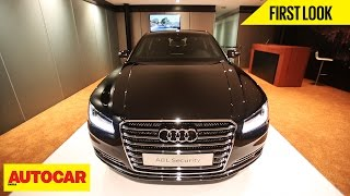 Download Audi A8L Security | First Look | Autocar India Video