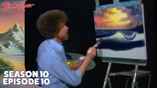 Download Bob Ross - Ocean Sunset (Season 10 Episode 10) Video
