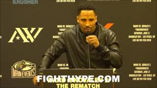 Download ANDRE WARD GIVES EPIC SPEECH ON KOVALEV AND OTHER FIGHTERS TALKING TRASH AND NOT BACKING IT UP Video