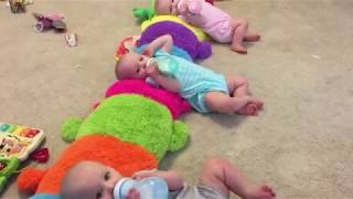 Download A Day in the Life with Triplets and Twins- VLOG #1 Video