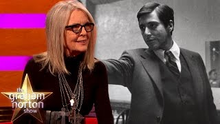 Download Diane Keaton Says They Wanted to Fire Al Pacino from The Godfather | The Graham Norton Show Video