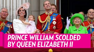 Download Prince William Gets Scolded by Queen Elizabeth II Video
