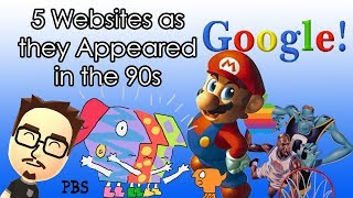 Download 5 Websites as they Appeared in the 90s Video