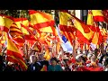 Download Hundreds of thousands rally in support of Spanish unity in Barcelona Video