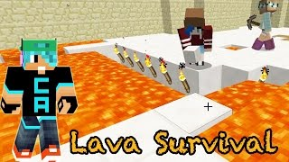 Download Minecraft / Lava Survival / Get out of my hidey hole! / Radiojh Games Video