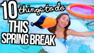 Download What To Do When You're Bored On Spring Break! | 10 Fun Ideas! | MyLifeAsEva Video