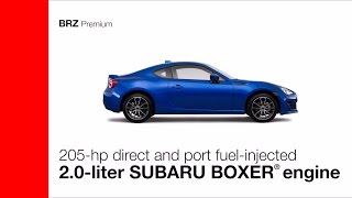 Download 2017 Subaru BRZ Premium and Limited Overview Video