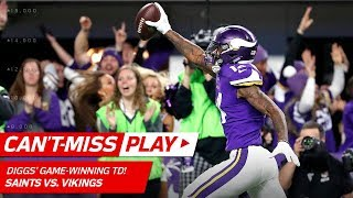 Download Stefon Diggs Makes Miracle TD Catch on Last Play, Vikings Win! 🦄 | Can't-Miss Play | NFL HLs Video
