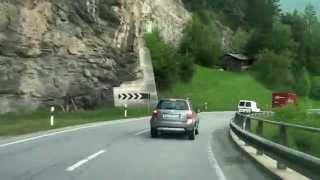 Download Driving from Zizers GR to St. Moritz/ Julierpass/ Switzerland/ 05.2014/ FullHD Video