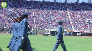 Download President Mugabe inspects ZDF guard of Honour #263Chat Video