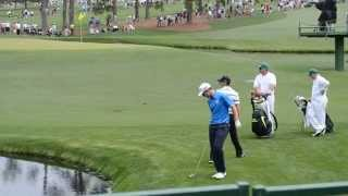 Download Rory McIlroy 2015 Masters - 16th Hole Skip - Monday Practice Round Video