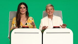 Download Sandra Bullock Answers Ellen's Burning Questions Video