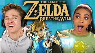 Download THE LEGEND OF ZELDA: BREATH OF THE WILD (Teens React: Gaming) Video