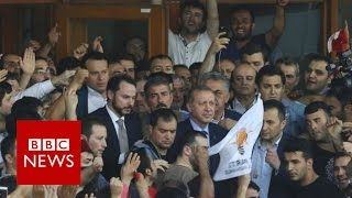 Download Turkey: President Recep Tayyip Erdogan denounces coup attempt - BBC News Video