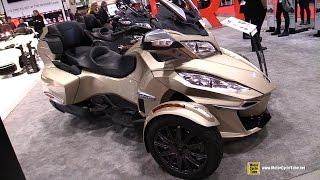 Download 2017 Can Am Spyder RT - Walkaround - 2017 Toronto Motorcycle Show Video