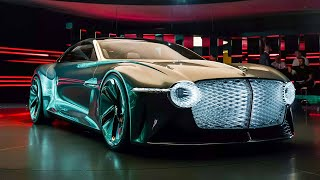 Download Bentley EXP 100 GT: Electric, Ultra High-Tech Luxury Of The Future | Carfection 4K Video