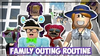 Download Bloxburg Mother of 4 Kids! WE WENT ON A FAMILY OUTING! (Roblox Roleplay) Video