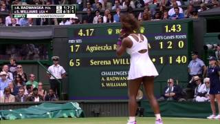 Download Serena Williams► Serves 4 ACES in a row @ Wimbledon 2012 Video