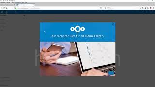 Download Installation von Nextcloud auf einem Hosting-Server Video