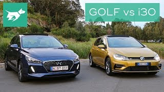 Download 2018 Hyundai i30 vs 2018 Volkswagen Golf Comparison Review Video