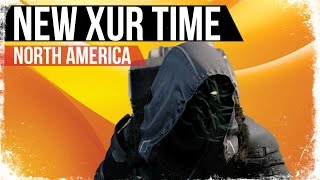 Download Destiny NEW XUR TIME and Servers Reset Time XUR Arriving 1 Hour Late North America Video