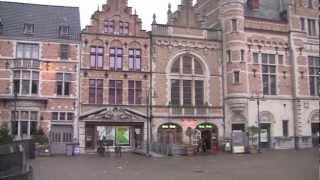 Download Kortrijk, West Flanders, Belgium - 9th January, 2013 Video