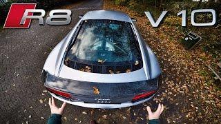 Download Audi R8 V10 Plus Review POV Test Drive Video