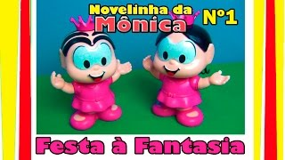 Download NOVELA DA MÔNICA Nº1 - FESTA À FANTASIA - PRINCESAS #Mônica e #Magali #TiaCris Video