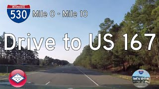 Download Interstate 530 - Mile 0 to Mile 10 - Arkansas | Drive America's Highways 🚙 Video