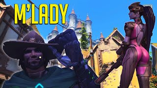 Download White Knight Mcree - The Mercy Apocalypse, Green Screen Shenanigans [Overwatch] Video