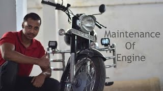 Download How to maintain Royal Enfield's Engine Video