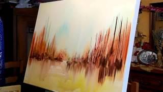 Download JEAN-CLAUDE LANNES : PERFORMANCE EN ATELIER - UNE TOILE EN MUSIQUE EN 12 MINUTES - VIDEO INTEGRALE Video