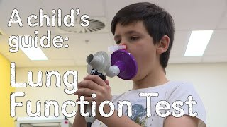 Download A child's guide to hospital: Spirometry - Lung Function Video