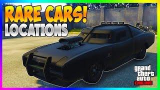 Download GTA 5 - FREE SECRET RARE CARS LOCATIONS IN GTA ONLINE! RARE STORABLE CAR SPAWNS! (GTA 5 Rare Cars) Video