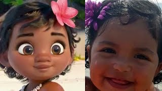 Download Disney Moana REAL LIFE All Characters Video