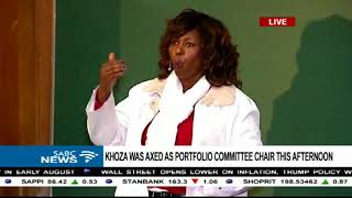 Download Makhosi Khoza's 16th Ruth First Memorial Lecture address Video