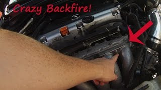 Download How To Make You Car Backfire More! Acura TSX Manifold Install Video
