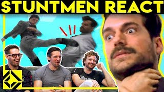 Download Stuntmen React To Bad & Great Hollywood Stunts Video