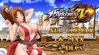 Download KOF XIV ALL CHARACTERS (+DLCS) MAX & CLIMAX!!! Video