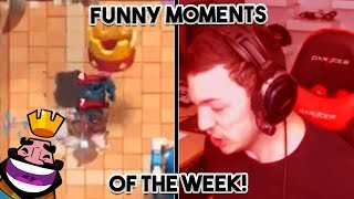 Download NICKATNYTE LIVE STREAM RAGE! | ULTIMATE Clash Royale FUNNY MOMENTS Of The Week #8 Video