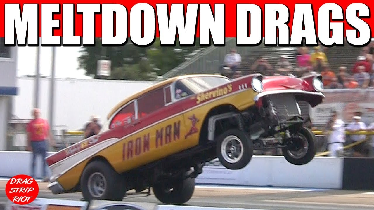 Stream 2017 Gasser Drag Racing Cars Old School Meltdown Drags Byron ...