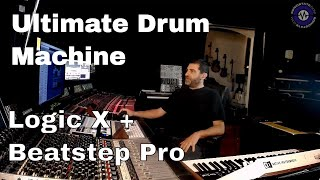 Download Logic X And Beatstep Pro As The Ultimate Drum Machine Video