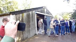 Download Ken Wallis MBE.Flies his AutoGyro for WMFC. 2nd Oct 2010 Video