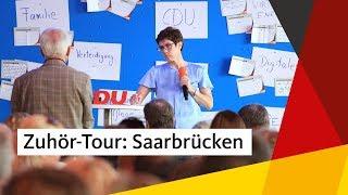 """Download AKK in der Heimat: """"Ganz besonderer Termin für mich"""" Video"""