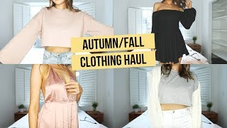 Download FALL TRY-ON CLOTHING HAUL (FT. BLONDEST MOMENT EVER HAHA) Video