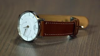 Download Withings Activité, the high-end watch with smart fitness hiding inside Video