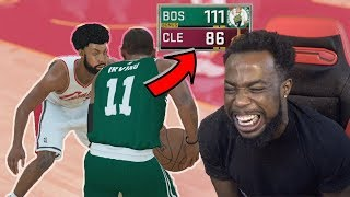 Download KYRIE IRVING DOMINATES LEBRON JAMES! 1st NBA Game Cavs Vs Celtics Opener NBA 2k18 MyCareer Ep3 Video